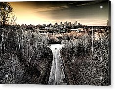 Two's Company Acrylic Print by Russell Styles
