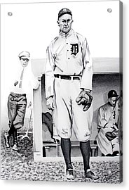 Ty Cobb Acrylic Print by Ferrel Cordle