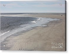 Tybee Island Beach Acrylic Print by Carol Groenen