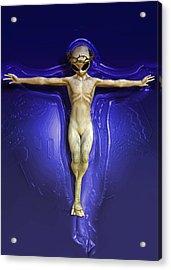 Holy Ufo Acrylic Print by Joaquin Abella
