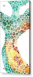 Ultra Modern Art - Colorforms 2 - Sharon Cummings Acrylic Print by Sharon Cummings