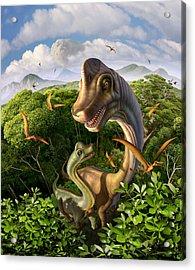 Ultrasaurus Acrylic Print by Jerry LoFaro