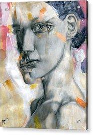 Unbearable Lightness Acrylic Print by Patricia Ariel