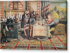 Uncle Sam Range Ad, 1876 Acrylic Print by Granger