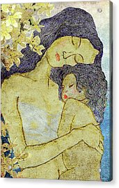 Unconditional Love Acrylic Print by Shakila Malavige