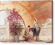 Unconscious Rivals Acrylic Print by Sir Lawrence Alma Tadema
