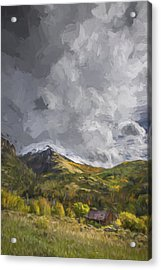 Under The Clouds II Acrylic Print by Jon Glaser