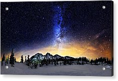 Under The Stars Acrylic Print by Alexis Birkill