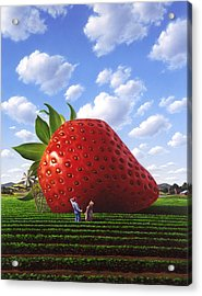 Unexpected Growth Acrylic Print by Jerry LoFaro
