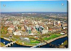 University City Philadelphia Pennsylvania Acrylic Print by Duncan Pearson