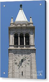 University Of California Berkeley Sather Tower The Campanile Dsc4046 Acrylic Print by Wingsdomain Art and Photography