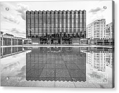 University Of Chicago D' Angelo Law Library Acrylic Print by University Icons