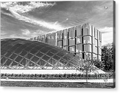 University Of Chicago Mansueto Library Acrylic Print by University Icons