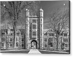 University Of Michigan Law Quad Acrylic Print by University Icons