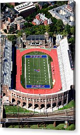 University Of Pennsylvania Franklin Field S 33rd Street Philadelphia Acrylic Print by Duncan Pearson