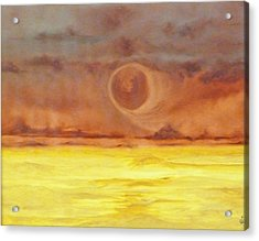 Unknown Planet Acrylic Print by Cheryl Allin