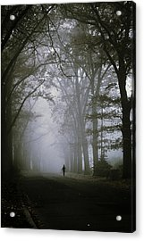 Unknown Way Acrylic Print by Cambion Art