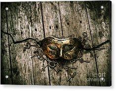 Unlocking A Golden Mystery Acrylic Print by Jorgo Photography - Wall Art Gallery