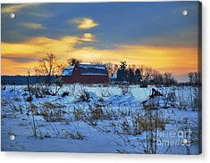 Until Spring Acrylic Print by Robert Pearson