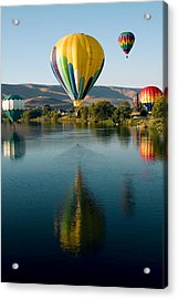 Up Up In The Air Acrylic Print by David Patterson