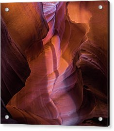 Upper Antelope Canyon 2 Acrylic Print by Larry Marshall