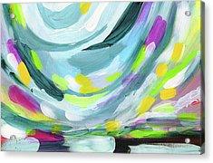 Uprise- Art By Linda Woods Acrylic Print by Linda Woods