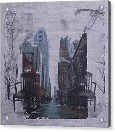Urban Juxtaposition II Acrylic Print by Terri Willits