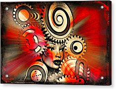 Urban Medusa Acrylic Print by Jeff  Gettis