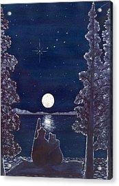 Ursa Minor Acrylic Print by Catherine G McElroy