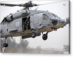 U.s. Special Forces Conduct Assault Acrylic Print by Stocktrek Images