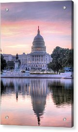 Usa Today Acrylic Print by JC Findley