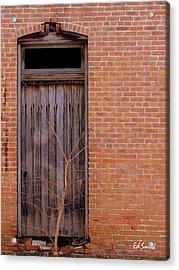 Use Side Entrance Acrylic Print by Ed Smith
