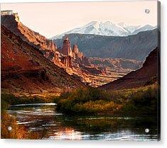 Utah Colorado River Acrylic Print by Marilyn Hunt