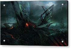 Utherworlds In Search Of Acrylic Print by Philip Straub