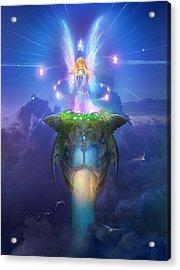 Utherworlds Stargazer Acrylic Print by Philip Straub