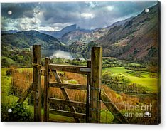 Valley Gate Acrylic Print by Adrian Evans
