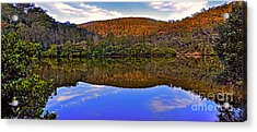 Valley Of Peace Acrylic Print by Kaye Menner