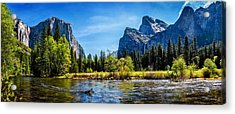 Tranquil Valley Acrylic Print by Az Jackson