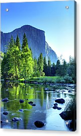 Valley View Morning Acrylic Print by Rick Berk