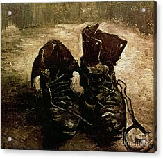Van Gogh Boots 1886 Acrylic Print by Granger