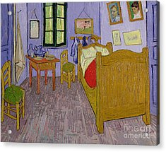 Van Goghs Bedroom At Arles Acrylic Print by Vincent Van Gogh