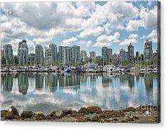 Vancouver Skyline Acrylic Print by Patricia Hofmeester