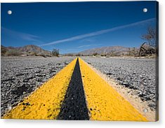 Vanishing Point Acrylic Print by Peter Tellone