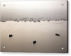 Varanasi - India Acrylic Print by Joana Kruse