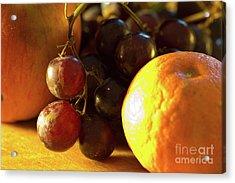 Various Fruit Acrylic Print by Brian Roscorla