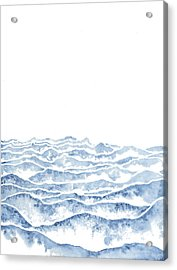Vast Acrylic Print by Emily Magone
