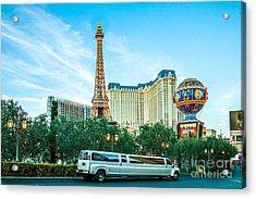 Vegas Vip Acrylic Print by Az Jackson