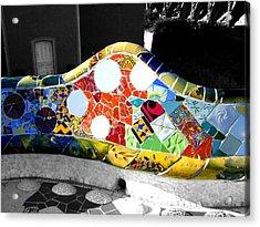 Vein Acrylic Print by Roberto Alamino