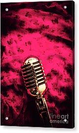 Velvet Jazz Show Acrylic Print by Jorgo Photography - Wall Art Gallery