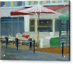 Vence Restaurant Acrylic Print by Robert Rohrich